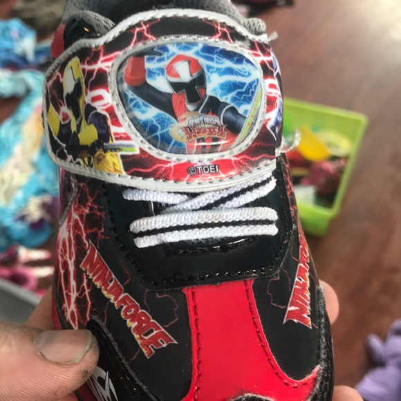 Power ranger shoes